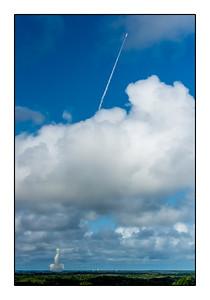 Lancement de la fusée Véga