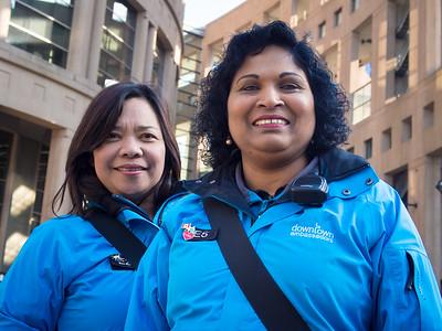 Rohini and Elizabeth