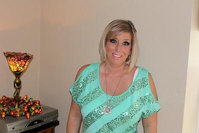 2012-10-13 Amber going to wedding 10-13-2012