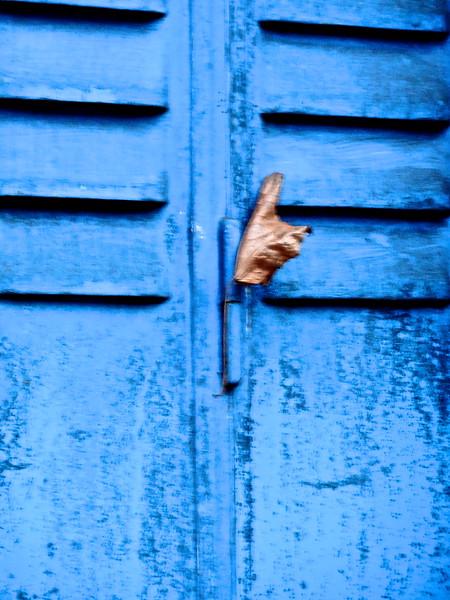 S'accrocher au bleu de ses rêves