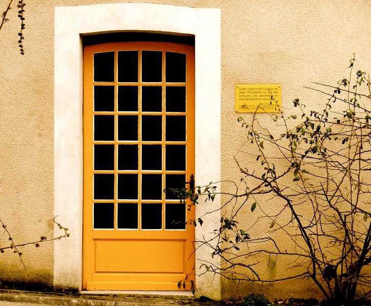 La Porte Jaune (maison de Jean Trousselier)