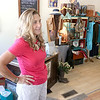 A new boutique called Ambience a Boutique for Home & Body has opened on Main Street next to the Boulder Cafe. Owner Nan Bronson talks about her new store on Tuesday afternoon. SENTINEL & ENTERPRISE/JOHN LOVE