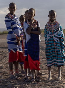 The Maasai however seem to get along peacibly