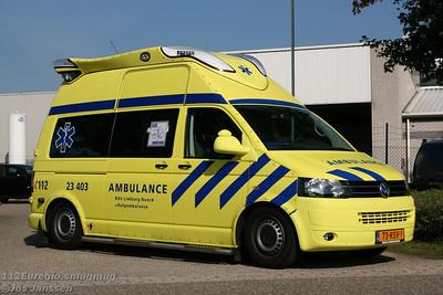 LCV Hulp ambulance