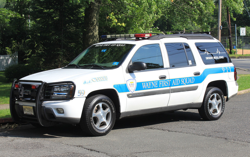 Wayne, NJ First Aid Squad 59 Chevy Trail Blazer