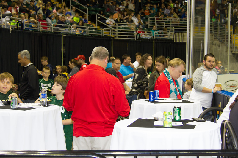 November14,2015 - St. Charles, MO. USA. during the Chicago Mustangs vs. St Louis Ambush season opener  at Family Arena