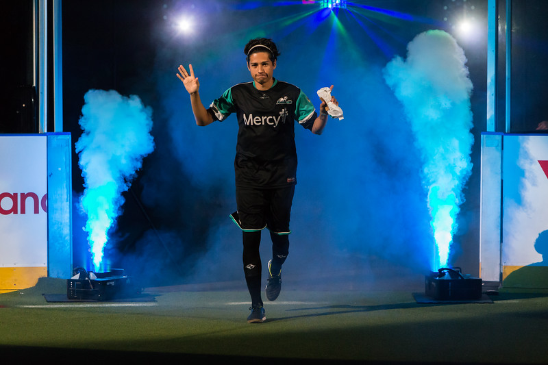 November 27,2015 - St. Charles, MO. during the Missouri Comets vs. St Louis Ambush   at Family Arena
