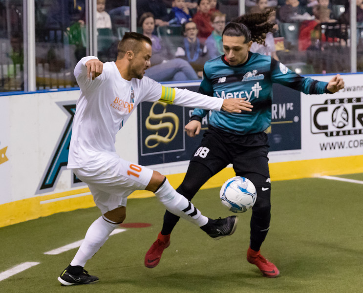 December 31, 2017 St Charles MO. The St Louis Ambush close out calendar year 2017 with a 8-5 loss to the Florida Tropics.