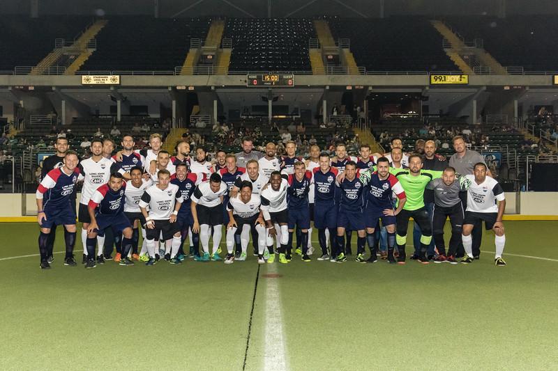 June 16, 2017. The Family Arena. MASL International Challenge