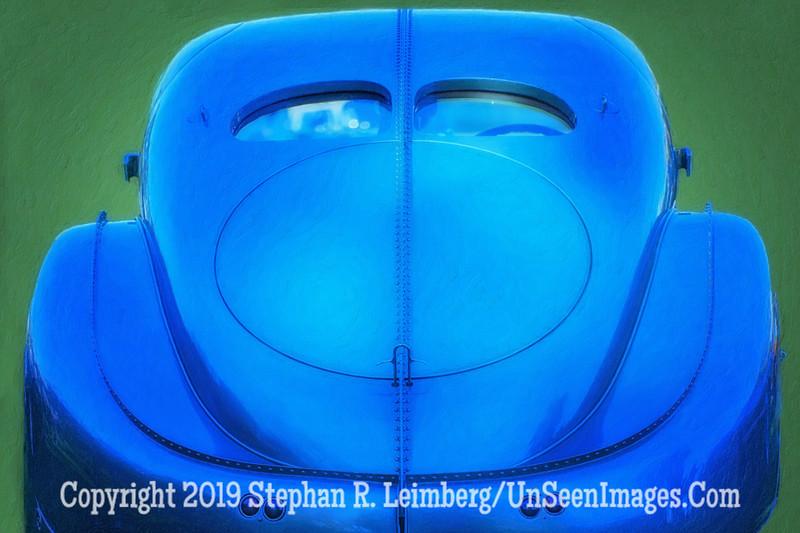 Little Blue Car PAINTING - Copyright 2015 Steve Leimberg - UnSeenImages Com _H1R8808