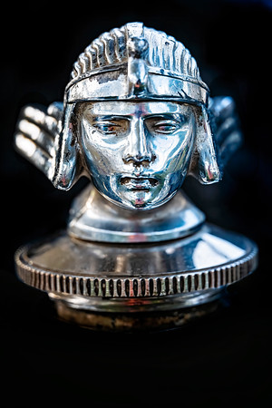 Warrior Hood Ornament Copyright 2020 Steve Leimberg UnSeenImages Com _DSF7382