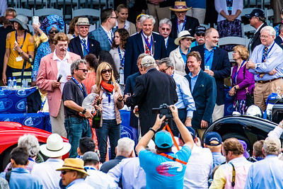 Grand Prize Winners Accepting Awards 2019 Amelia Island Concours Copyright 2020 Steve Leimberg UnSeenImages Com _A6I7344