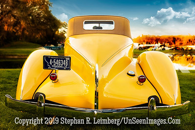 Yellow Auburn Convertible - Copyright 2019 Steve Leimberg UnSeenImages Com _Z2A6513
