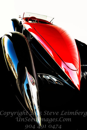 Red and Black Delahaye - Copyright 2017 Steve Leimberg - UnSeenImages Com _Z2A9050