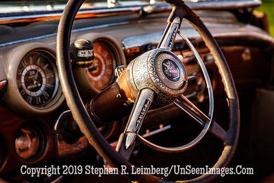 Buick Roadmaster Steering Wheel - Copyright 2019 Steve Leimberg UnSeenImages Com _Z2A6629