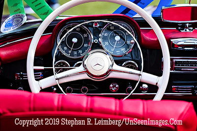 Mercedes Steering Wheel  - Copyright 2019 Steve Leimberg UnSeenImages Com _A6I5229