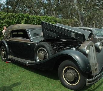 1937 Horch 853 A Cabriolet