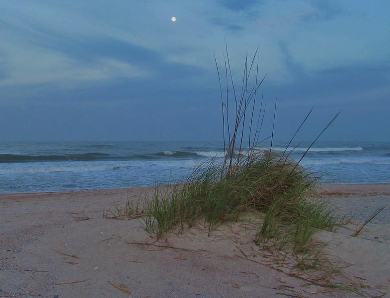 Moon over dunes 4.2.15