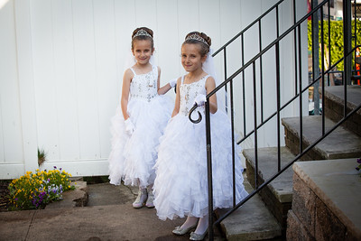 Amelia and Abigail's Communion