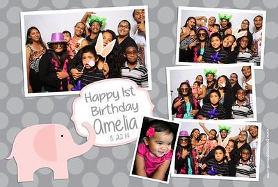 Amelia's 1st Birthday (Fusion Portraits)