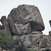 I thought this was an interesting rock formation on the mountain behind the resort.