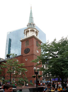 Use your imagination when you step inside what used to be Boston's biggest town hall and you may hear the whispers of patriots plotting to throw the Brits' latest shipment of tea into the harbor. Today, the Old South Meeting House is dwarfed by the glass and steel high-rises that surround it, but living history reenactments keep the legends of rebellion ringing loud and clear.