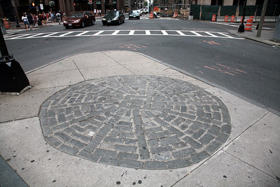 In early March of 1770, a skirmish broke out between colonists and British soldiers just outside the doors of the Old State House. By the time it was over, five Americans were dead and tensions between the two factions had reached an irreversible boiling point. A cobblestone circle in front of this historic building marks what came to be called the Boston Massacre.
