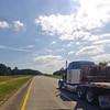 Empty Tractor Trailer