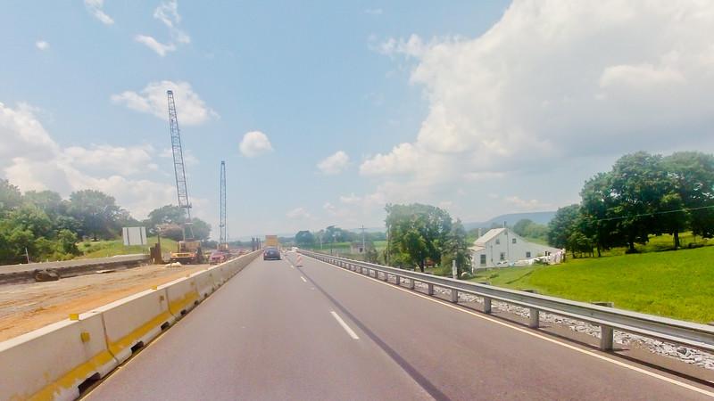 Driving through Pennsylvania Foundation Photograph 23