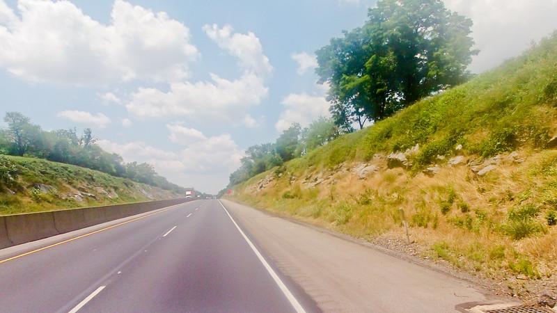 Driving through Pennsylvania Foundation Photograph 13
