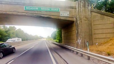 Driving through Pennsylvania Foundation Photograph 17