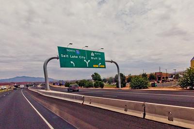 Salt Lake City Sign