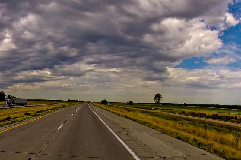 Dark Clouds Reaching Overhead