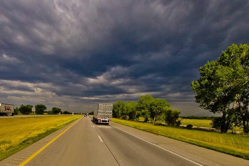 A Storm Cloud Expanding