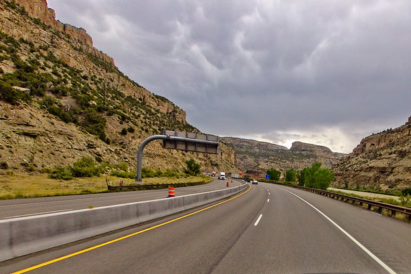 Clouds and Canyon Bend