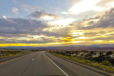 Highway into the Golden Sky