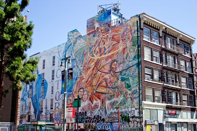 A Walk around downtown Los Angeles Photograph 104
