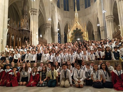 America Pueri Cantores @St. Patrick's Cathedral 4/29