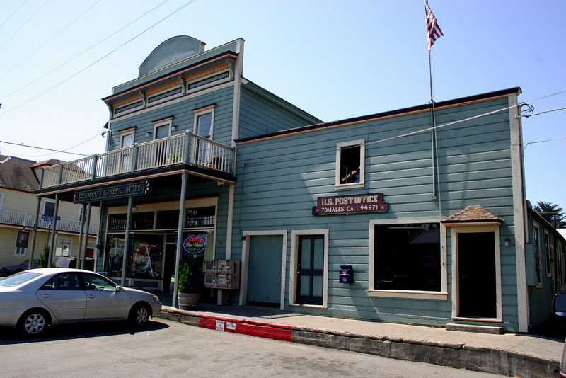 Tomales sets the standard with maintenance of it's historic appearance. So much so that the car looks out of place.
