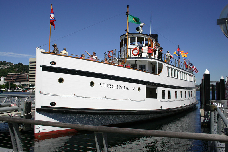 This 1922 steam ship with it's triple expansion engine was fully restored at a cost of about $7 million and placed on the National Register in 1992