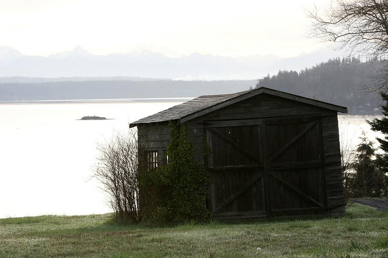 One of many great views from Whidby Island - Now unused and in reasonable condition (until the next winter storm.....)