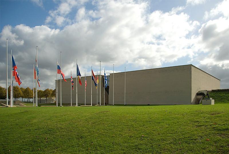 Omaha Beach, Normandy, France, Memorial, Musée pour la Paix, Esplanade Eisenhower
