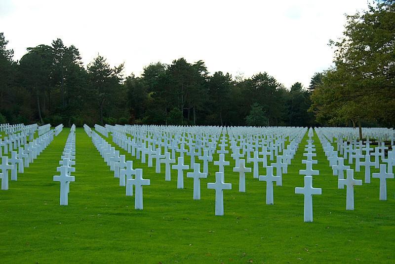 Omaha Beach, Normandy, France, Normandy American Cemetery