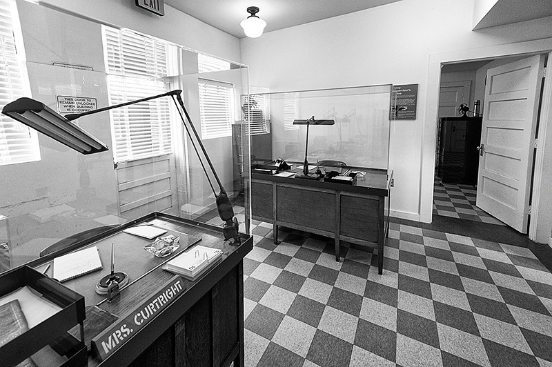 Tuskegee Airmen National Historic Park, Moton Field - US Army Air Corps Offices, reception