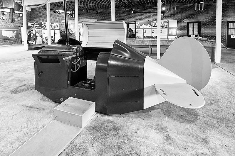 Tuskegee Airmen National Historic Park, Moton Field - Link Trainer in Hanger #1