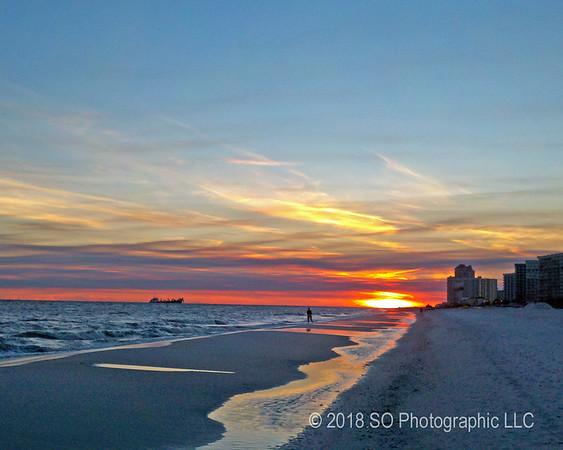 Gulf Shores Alabama at Sundown