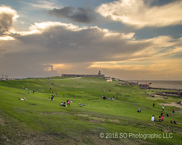 El Morro on Saturday Evening