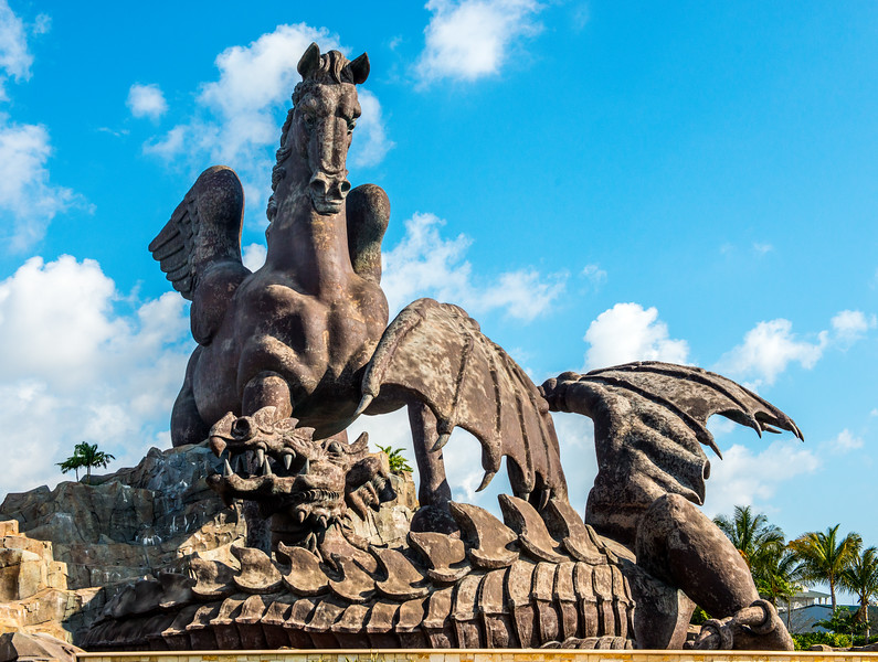 Pegasus--Symbol of Gulfstream Track