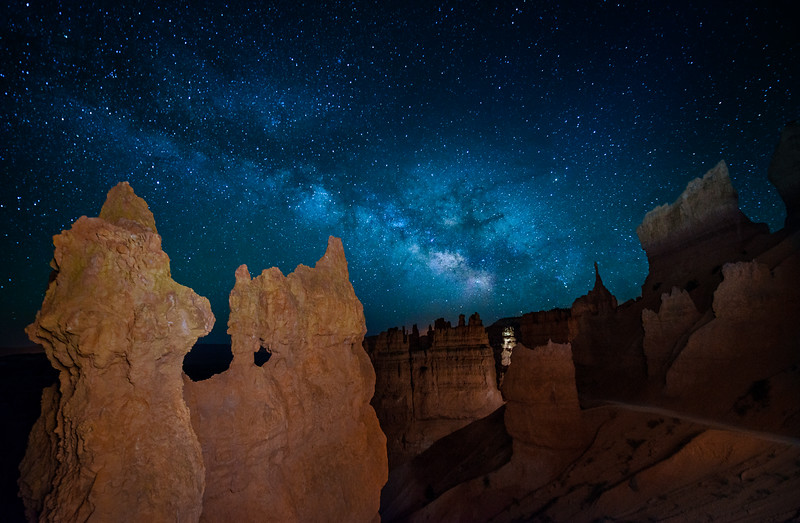 Walking Into the Starry Night |  Bryce Canyon, Utah