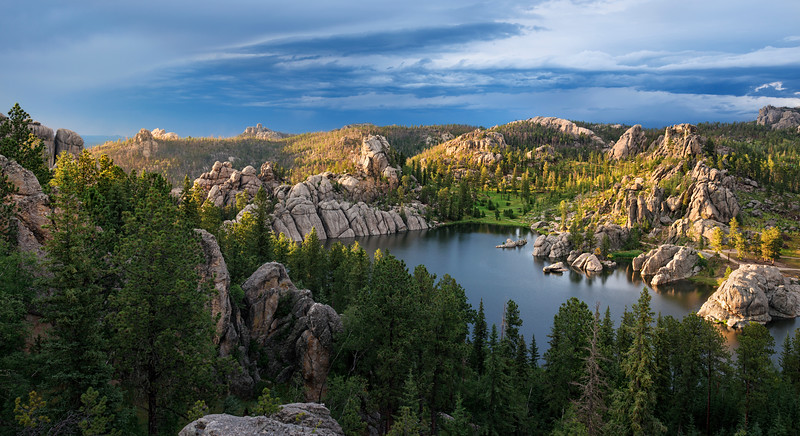 Sylvan Lake Storm     Black Hills South Dakota